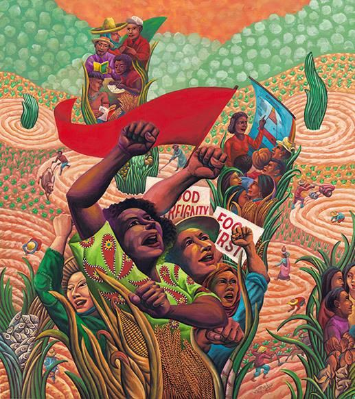 """Food Sovereignty"" by Federico Boy Dominguez"